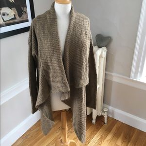 WILLOW & CLAY soft long draped oversized cardigan